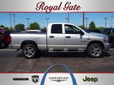 2008 Bright Silver Metallic Dodge Ram 1500 Sport Quad Cab 4x4 #63723284
