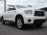 2007 Super White Toyota Tundra Limited Double Cab 4x4 #63723272