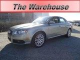 2008 Quartz Grey Metallic Audi A4 2.0T quattro Sedan #63723215