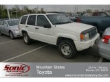 1998 Stone White Jeep Grand Cherokee Laredo 4x4 #63723202