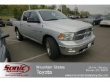 2012 Bright Silver Metallic Dodge Ram 1500 Big Horn Crew Cab 4x4 #63723200