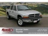 2004 Bright Silver Metallic Dodge Dakota Sport Quad Cab 4x4 #63723181