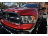 2009 Inferno Red Crystal Pearl Dodge Ram 1500 Big Horn Edition Crew Cab 4x4 #63723778