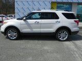2013 White Platinum Tri-Coat Ford Explorer Limited 4WD #63723481