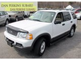 2003 Oxford White Ford Explorer XLT 4x4 #63723123