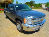 2012 Blue Granite Metallic Chevrolet Silverado 1500 LS Extended Cab #63723750