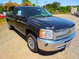 2012 Black Granite Metallic Chevrolet Silverado 1500 LS Extended Cab #63723749