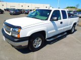 2003 Summit White Chevrolet Silverado 1500 LT Extended Cab 4x4 #63723743