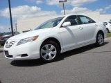 2008 Super White Toyota Camry LE #63780531