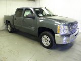 2012 Blue Granite Metallic Chevrolet Silverado 1500 LT Crew Cab #63780851