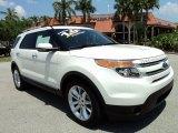 2011 White Platinum Tri-Coat Ford Explorer Limited #63780476