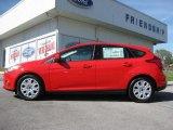 2012 Race Red Ford Focus SE 5-Door #63780446