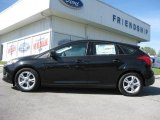 2012 Tuxedo Black Metallic Ford Focus SE Sport 5-Door #63780445