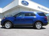 2013 Deep Impact Blue Metallic Ford Explorer XLT EcoBoost #63780431