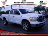 2006 Bright White Dodge Ram 1500 SLT Quad Cab #63781124