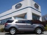 2013 Sterling Gray Metallic Ford Explorer XLT 4WD #63780359