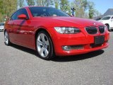 2008 Crimson Red BMW 3 Series 335i Coupe #63780346