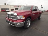 2012 Deep Cherry Red Crystal Pearl Dodge Ram 1500 Big Horn Crew Cab 4x4 #63780739