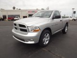2012 Bright Silver Metallic Dodge Ram 1500 Express Regular Cab #63780736