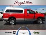 2003 Flame Red Dodge Ram 1500 ST Regular Cab 4x4 #63780331