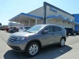 2012 Polished Metal Metallic Honda CR-V EX-L 4WD #63781020