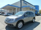 2012 Polished Metal Metallic Honda CR-V EX-L 4WD #63781019
