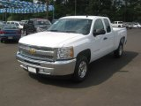 2012 Summit White Chevrolet Silverado 1500 LT Extended Cab #63781007