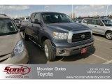 2008 Slate Gray Metallic Toyota Tundra SR5 Double Cab 4x4 #63780253
