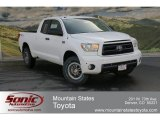 2012 Super White Toyota Tundra TRD Rock Warrior Double Cab 4x4 #63780240