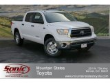 2012 Super White Toyota Tundra SR5 TRD CrewMax 4x4 #63780239