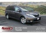 2012 Predawn Gray Mica Toyota Sienna LE #63780233