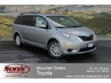 2012 Silver Sky Metallic Toyota Sienna LE AWD #63780226