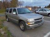 2001 Light Pewter Metallic Chevrolet Suburban 1500 LS 4x4 #63780212