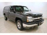 2003 Dark Gray Metallic Chevrolet Silverado 1500 LS Regular Cab 4x4 #63780961