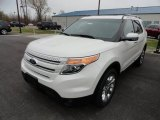 2013 White Platinum Tri-Coat Ford Explorer Limited 4WD #63780934