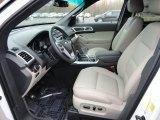 2013 Ford Explorer Limited 4WD Medium Light Stone Interior