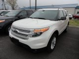 2013 White Platinum Tri-Coat Ford Explorer XLT 4WD #63780933