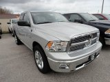 2012 Bright Silver Metallic Dodge Ram 1500 Big Horn Quad Cab 4x4 #63780905