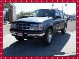 1997 Deep Jewel Green Pearl Ford Explorer XLT 4x4 #63780604
