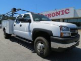 2006 Summit White Chevrolet Silverado 3500 Crew Cab Commercial #63780602