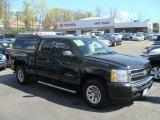 2010 Black Chevrolet Silverado 1500 LS Extended Cab 4x4 #63780551