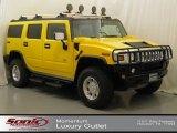 2003 Yellow Hummer H2 SUV #63848280