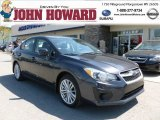 2012 Dark Gray Metallic Subaru Impreza 2.0i Premium 4 Door #63848375