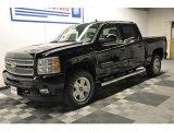 2012 Black Chevrolet Silverado 1500 LTZ Crew Cab 4x4 #63848476