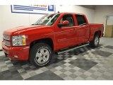 2012 Victory Red Chevrolet Silverado 1500 LT Crew Cab 4x4 #63848473