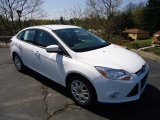 2012 Oxford White Ford Focus SE Sedan #63848254
