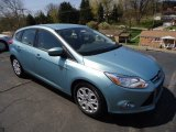 2012 Frosted Glass Metallic Ford Focus SE 5-Door #63848252