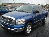 2007 Electric Blue Pearl Dodge Ram 1500 Lone Star Edition Quad Cab #63848352