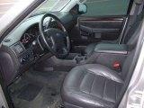 2004 Ford Explorer Limited Midnight Grey Interior