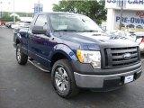 2011 Dark Blue Pearl Metallic Ford F150 XL Regular Cab #63848228